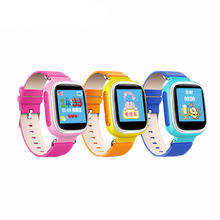 kids gps tracker 1.44 colorful screen with pedometer sleep monitor led watches 2016