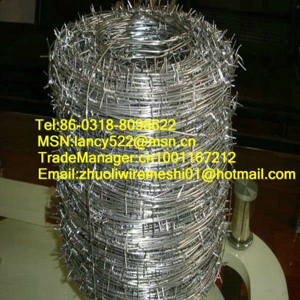 stainless steel prison barbed wire fence made in china