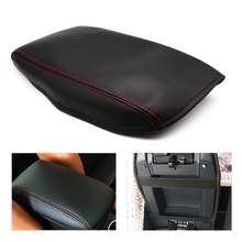 For Audi A6 2005 2006 2007 2008 2009 2010 2011 Center Console Armrest Box Cover microfiber leather Protection Pad large armrest for ford focus 2 mk2 2005 2011 arm rest centre center console storage box leather support 2006 2007 2008 2009 2010
