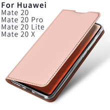 Flip Case For For Huawei Mate 20 Pro Lite X PU Leather TPU Soft Bumper Protective Card Slot Holder Wallet Stand Cover Phone Bag flip case for huawei honor 20 pro pu leather tpu soft bumper protective card slot holder wallet stand cover mobile phone bag