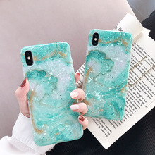 Glitter Phone Case For iPhone XR XS MAX 7 Plus Coque For iPhone 6 6S 8 Plus X Shell Pattern Soft TPU Cases Silicone Back Cover uslion glitter phone case for iphone 7 8 plus dream shell pattern cases for iphone xr xs max 7 6 6s plus soft tpu silicone cover