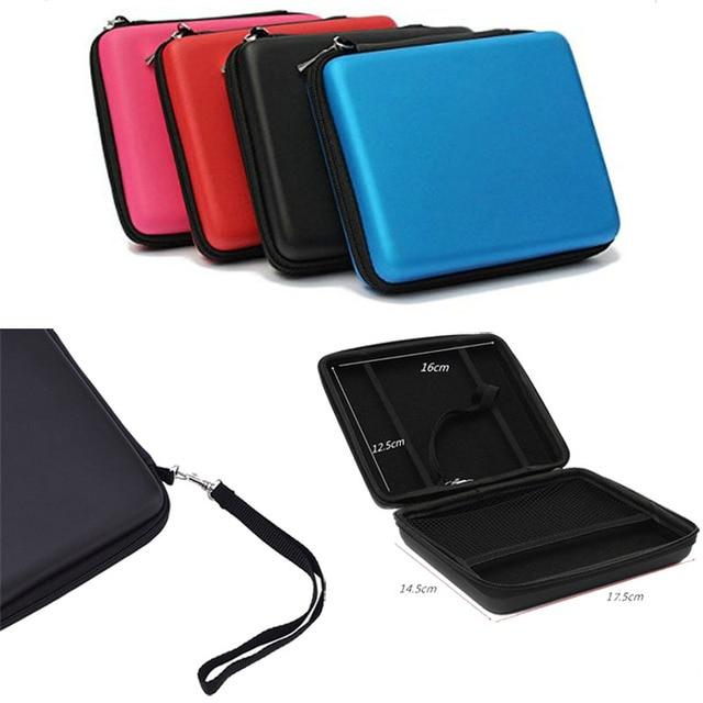 4 Colors Hard Eva Bag For 2ds Protective Storage Zip Case Cover Holder Nintendo