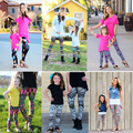 2016 Family Matching Leggings Family Set Christmas Mother/Mom and Daughter Pants Clothes Family Clothing Parent-Child Set ZT8