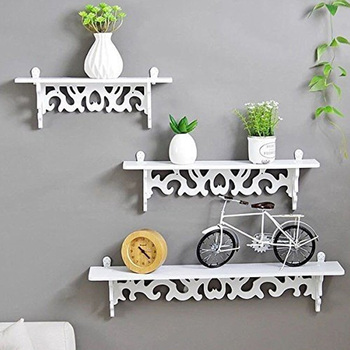 White Wall Shelf Wall Mounted Storage Rack Organization For Bedroom Kitchen Bathroom Shower Corner Storage Shelf DIY Kid Room wall mounted rotating sauna wooden hourglass white sand timer 15 minutes