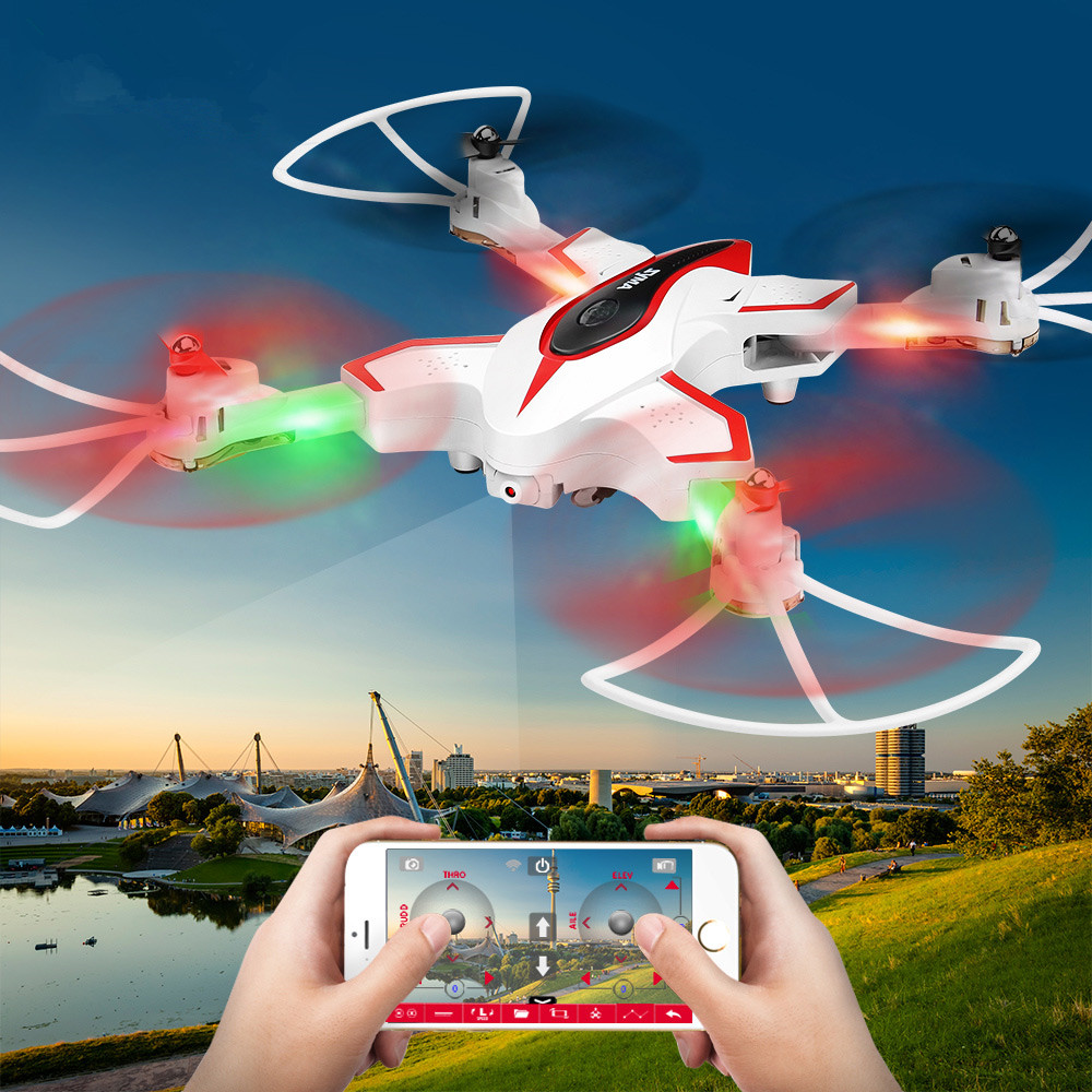 2017 Newest aerial rc drone helicopter X56W Set Height RC Aerial Photography Foldable Pocket Drone toys with WIFI Camera vs x101 frsky horus amber x10s 2 4g 16ch transmitter tx built in ixjt module for fpv aerial photography rc helicopter drone