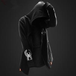 ZOGAA 2019 new 5 colors Assassin Master hoodie men's hooded hooded jacket men's hooded jacket large size S-4XL 3