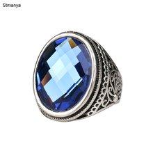Роскошные Синие Блестящие аксессуары для женщин посеребренные