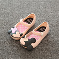 Mini SED Zapatos 2017 Verano de las muchachas Lindas Sandalias Niñas zapatos de Los Niños tamaño de los zapatos de Bebé Para La Muchacha EUR24-29 mini SED