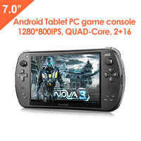 JXD S7800B 7-inch Duad Core 16 GB Smart Game Console 2GB RAM 1280X800 IPS Dual Camera Tablet Android 4.4.4 Handheld Game Console