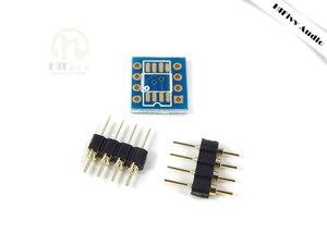 Image 3 - SOP8 Patch Einzel op amp umwandlung DIP8 dual Betriebs verstärker DIY Gold überzogene schweißen bord IC chip transformation bord