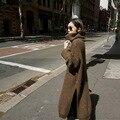 [XITAO] новая зимняя Корейский ветер повседневный стиль сплошной цвет водолазка толщиной полный рукав длинный свободные формы женской свитер HGB-001