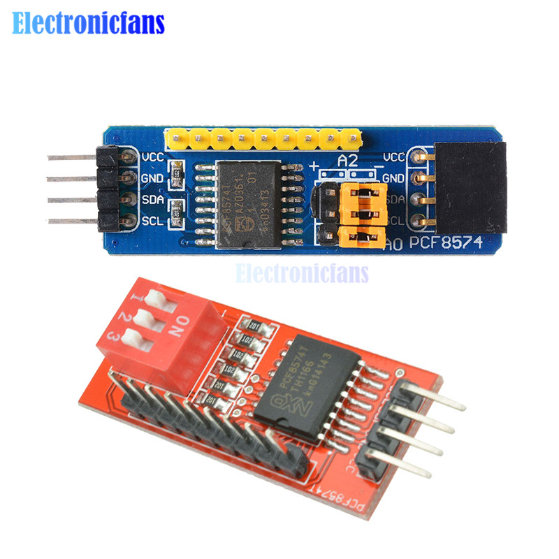 Module Kits Accessory PCF8574 PCF8574T I//O for I2C IIC Port Interface Support Cascading Extended Module Expansion Board High Low Level