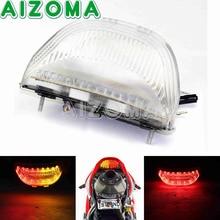 Мотоцикл светодиодный фонарь Amber красный Тормозная остановить сигнальные лампы Inidicators для Honda CBR600RR 2003-2006 CBR1000RR 2004 -2007