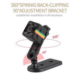 SQ11 мини Камера 640*480 DV Micro Sport Камера Видеорегистраторы для автомобилей Ночное видение видео голос Регистраторы мини Действие Cam видеокамера