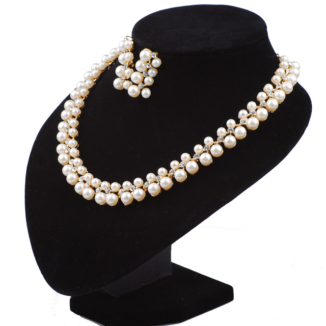Simulated pearl Turkish Jewelry Wedding Gifts For Bridesmaid Vintage