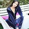 Thin Women Velvet Hooded Hoodie Women Wear Suit Suit Wear Spring Sweatshirt Bts Hoodies