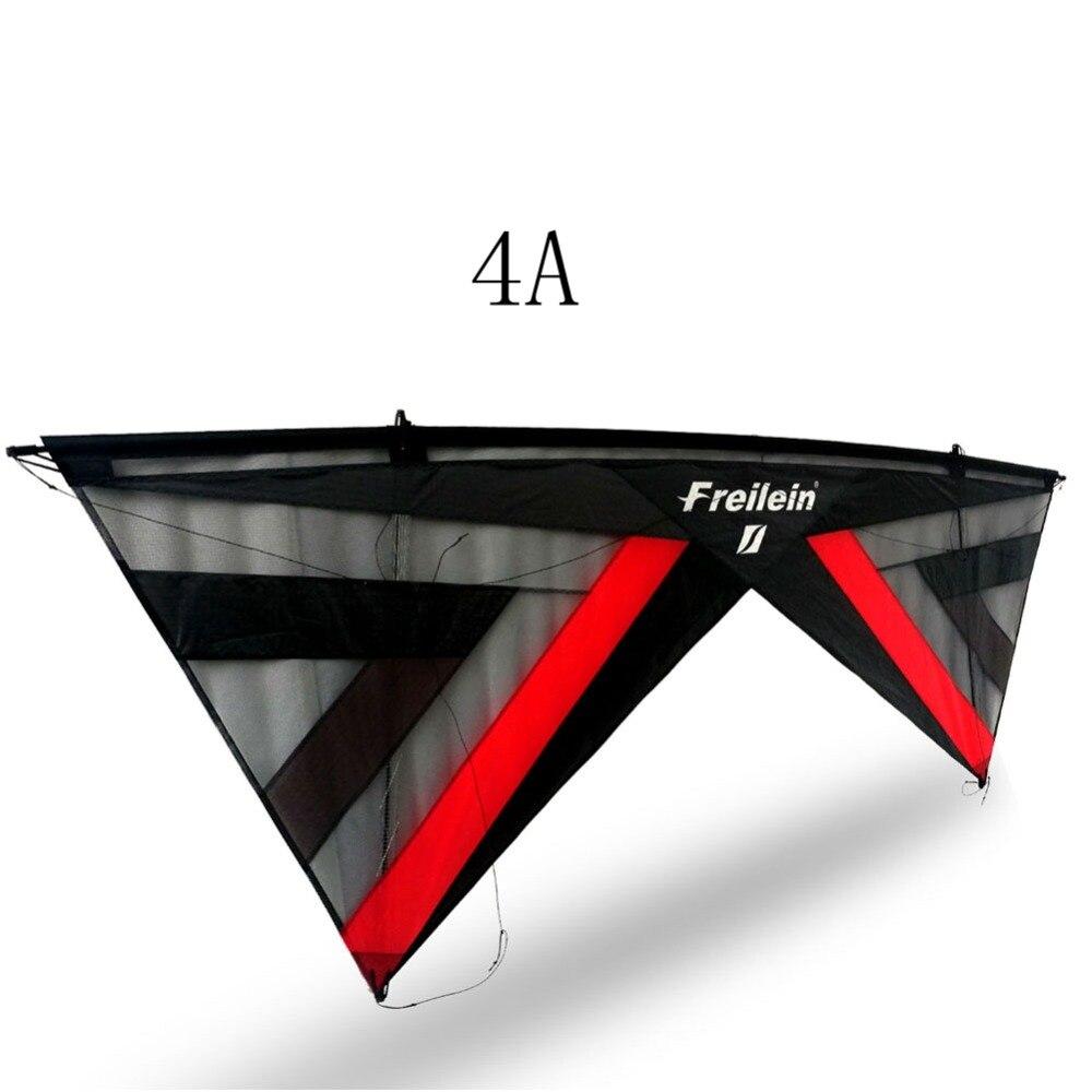 Cerf-volant de cascade professionnel conçoit le cerf-volant de plage de 4 lignes de puissance de Sport en plein air avec des poignées volant la ficelle de ligne
