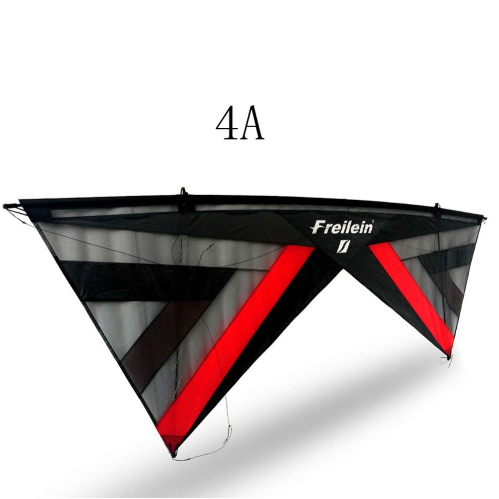 Professional Stunt Kite Designs Outdoor Sport Power Kite 4 Line Beach Kite With Handles Flying Line String freilein windrider quad line stunt kite set outdoor power kite flying handles kite line string for competition show