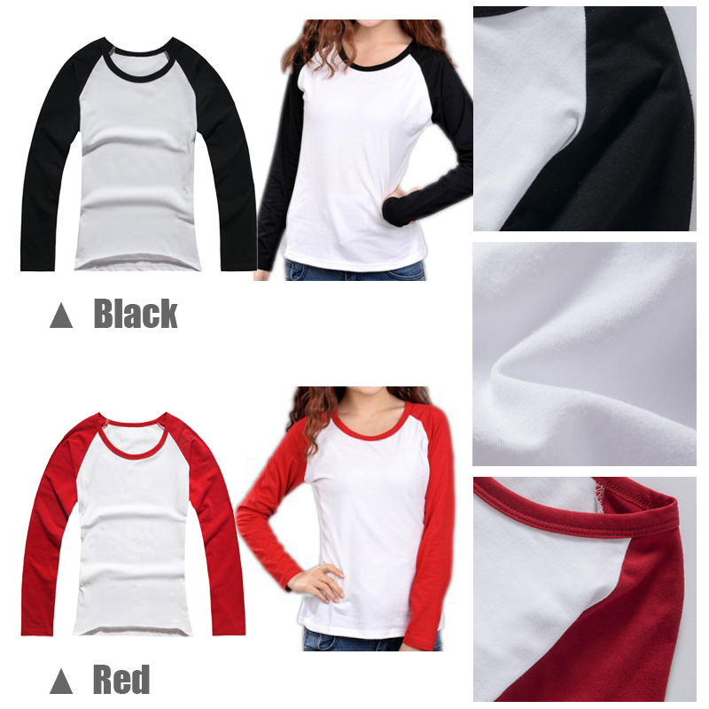 Fashion red hot chili peppers rock band t shirt women dc superhero t-shirt long sleeve tshirt girl  holiday tee tops plus size l-4