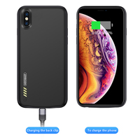 For Iphone X Battery Case powerbank case 3500mAh For iPhoneX Batterie Charging Cases Protable Power Bank Charge Cover Audio Hole