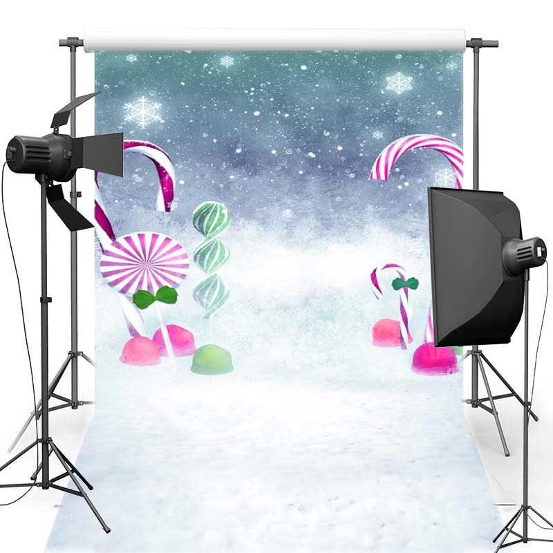 MEHOFOTO New Year Christmas Vinyl Photography Background For Children Candy New Fabric Flannel Backdrop For Photo Shoot 6405 retro background christmas photo props photography screen backdrops for children vinyl 7x5ft or 5x3ft christmas033