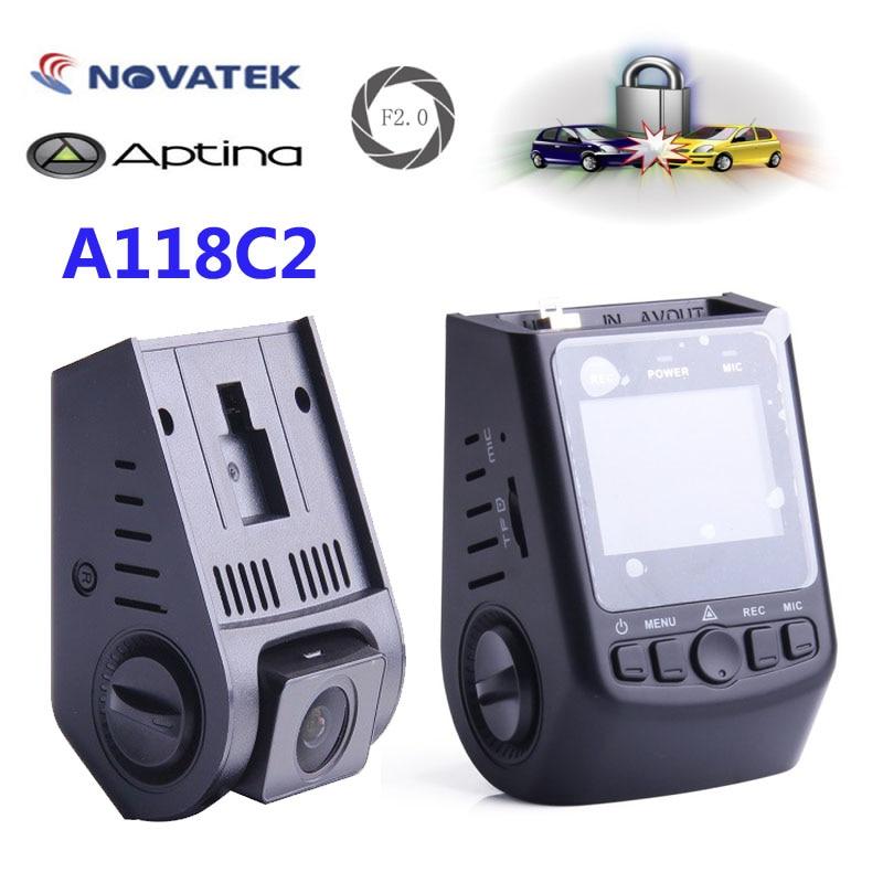 imágenes para Original VIOFO A118C2 Dashcam Cámara Mini DVR Del Coche Condensador de alto rendimiento Novatek HD 1080 P Grabador de Vídeo de grabación de bucle como A119