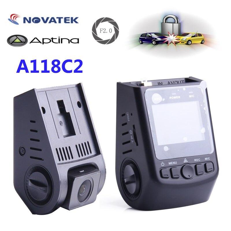 Original VIOFO A118C2 font b Car b font Dashcam Camera Mini DVR Super Capacitor Novatek HD