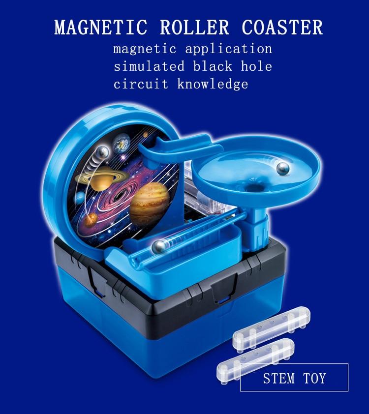 Jouet éducatif de Science de jouet d'expérimentation physique, jouets d'apprentissage de technologie d'expérimentation de physique créative pour des enfants BLWLSY - 5