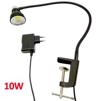 110 V/220 V 10 W Led cuello de cisne lámpara de escritorio