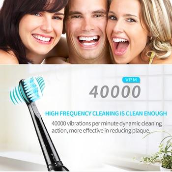 Wiederaufladbare Elektrische Zahnbürste Elektronische Zahnbürste Automatische Sonic Zahn Pinsel Wasserdicht Dental Care Elektrische Zähne Pinsel
