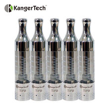 5pc Original KangerTech T3D Dual Coil Clearomizer 2.2ml KangerTech T3D Dual Coil Tank Vape Compatible with eGo/ eGo-T/ eGo-C/ eG