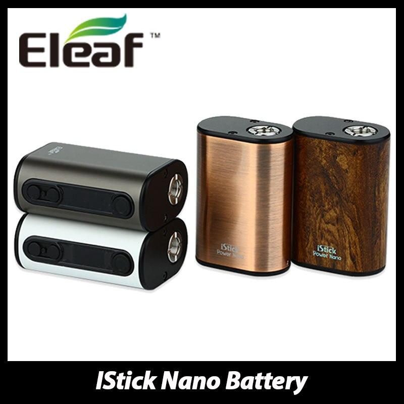100 Original Eleaf iStick Power Nano Mod Battery Electronic Cigarette 1100mAh Battery 40W Box Mod for
