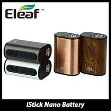 100% original eleaf istick energía nano mod cigarrillo electrónico de la batería 1100 mAh Batería 40 W Caja Mod para Melo 3 Nano Atomizador tanque