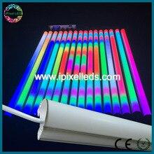 Madrix управляемый музыкальный активированный светодиодный rgb dmx трубы, сценическое освещение