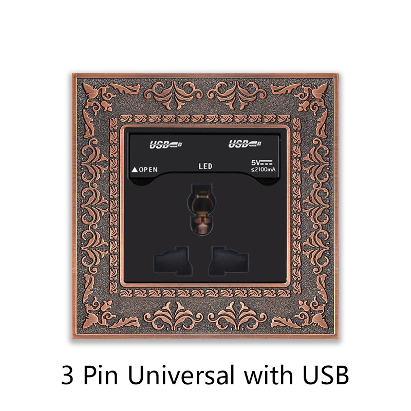 3 Pin Universal with USB