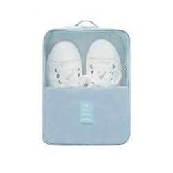Модные дорожные аксессуары 2 отделения дорожный органайзер для обуви непромокаемый нейлоновый прозрачный сетчатый пылезащитный мешок для