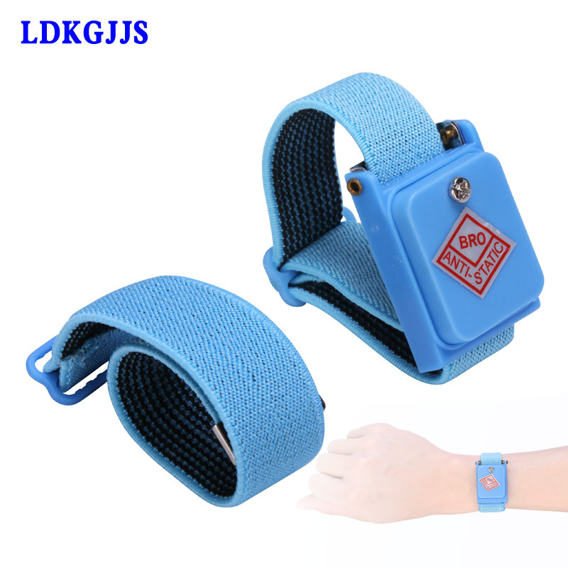 Hand & Power Tool Accessories Esd Anti Static Cordless Wrist Strap Elastic Band For Sensitive Electronics Repair Tools