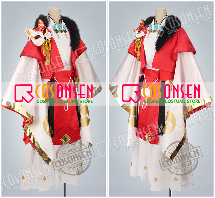 Onmyoji Youko Default cosplay costume full set adult costume new style COSPLAYONSEN