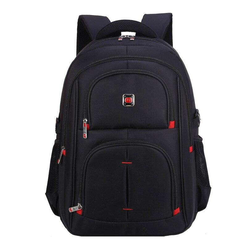 ФОТО Fashion Backpack Men Travel Bag Mochila Masculina Luggage Backpack Black Laptop Backpacks Women Plecaki School Bags Back Pack