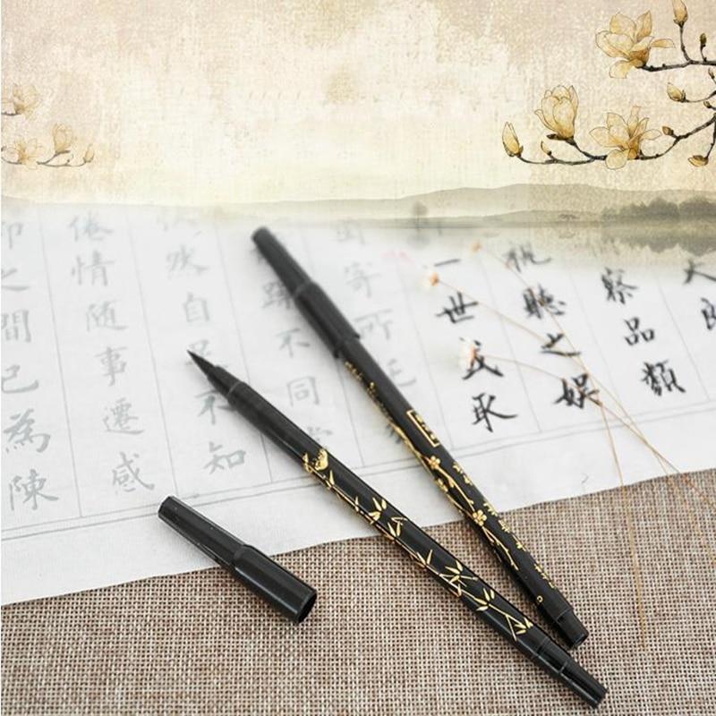 Pc calligraphy brush pen to choose soft felt tips