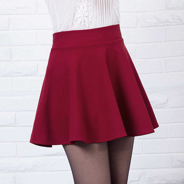 New Short Skirts Womens 2016 New Style Casual Vintage -3307