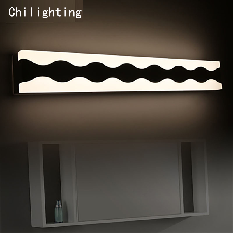 LED wall lamp Length 58cm 9W Wave shape bedside lamp modern living room wall lamp corridor hallway stairs lights modern lamp trophy wall lamp wall lamp bed lighting bedside wall lamp