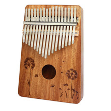 17 Keys Kalimba 17 African Thumb Piano Finger Percussion Keyboard Kids Sapele Body