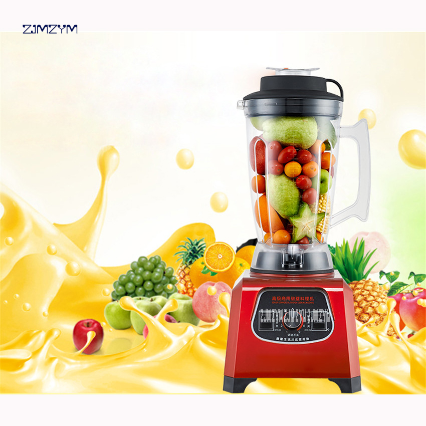 hight Quality HC-2200 Heavy Duty Commercial Blender Professional 2200W Blender Mixer Juicer Food Processor stainless steel Blade bpa 3 speed heavy duty commercial grade juicer fruit blender mixer 2200w 2l professional smoothies food mixer fruit processor