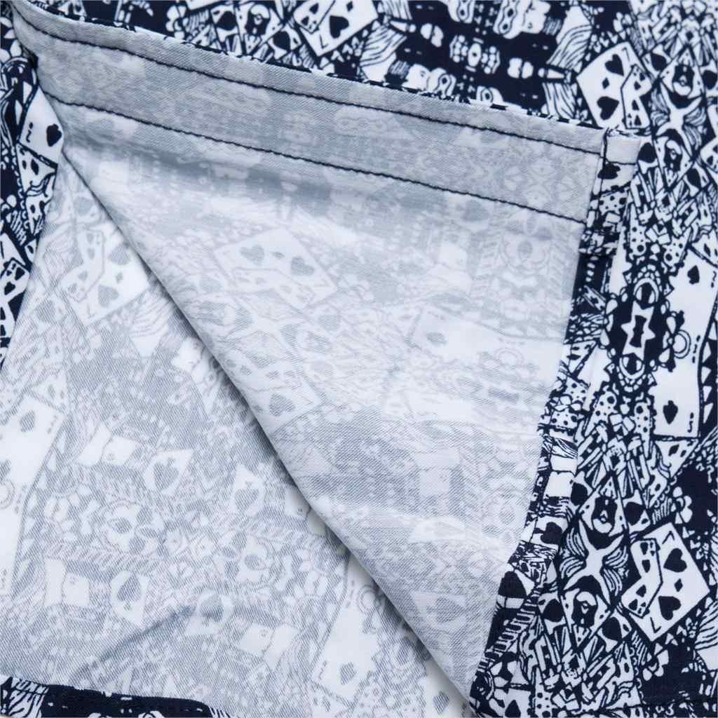 Fredd マーシャル 2019 夏綿 100% シャツ男性ファッションポーカーシャツ男性長袖カジュアルハワイアンシャツブランド服 184