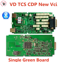 New Vci VD TCS CDP BT OBD2 Diagnostic Interface Single Board+Install Video SN100251 OBD OBD2/OBDII Auto Diagnostic Scanner Tool