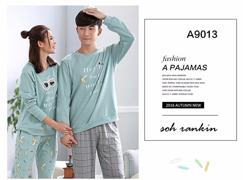 lovers pajamas couple sleepwear 04