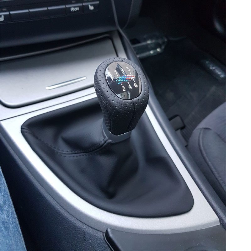 Image 5 - For Bmw 1 Series E81 E82 E87 E88 LHD Car Shift Knob Gear Knob With Leather Boot And Frame Car Styling Accessories-in Gear Shift Knob from Automobiles & Motorcycles