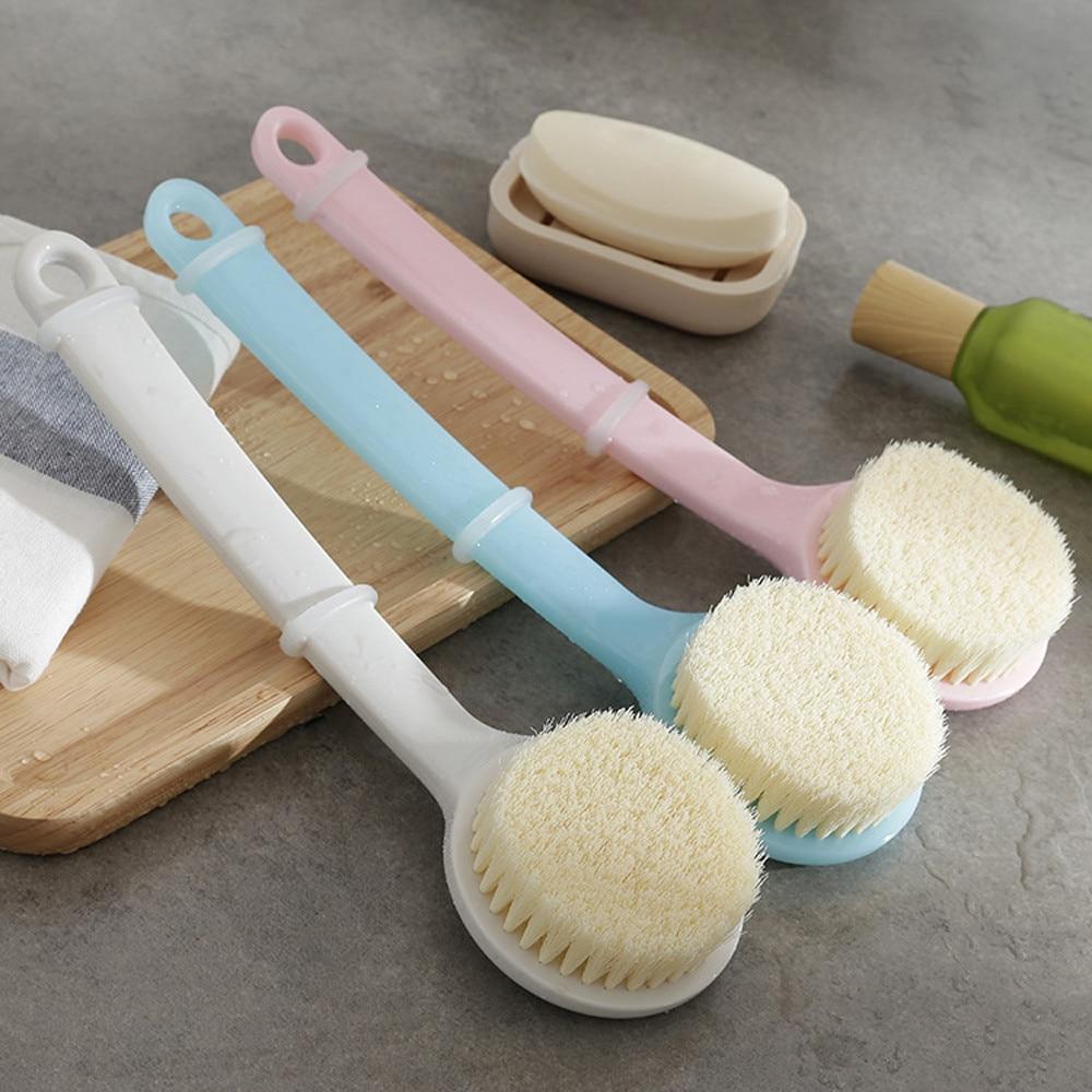 SAFEBET Long Handle Ultra Soft Bath Shower Brush Skin Massage Back Rubbing Brush makeup 2018 drop shipping