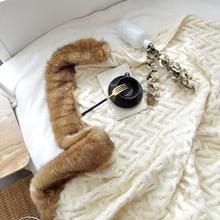 YOOSA Super Soft Long Shaggy Fuzzy Fur Thread Throws Blankets Faux Fur Warm Elegant Cozy With Fluffy Sherpa Throw Blanket yoosa белый